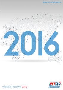 PST CLC, a.s. - výroční zpráva 2016